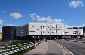 Pysäköintilaitos, Savitehtaankatu 5, Turku F6 Arkkitehdit Oy