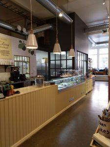 Moko Market Café & Store, Perämiehenkatu 10, Helsinki F6 Arkkitehdit Oy